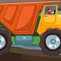 Máriós kamionos versenyzős játék