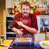 Ezt kóstoljátok meg: Citrusos lazac párolt gyökérzöldségekkel