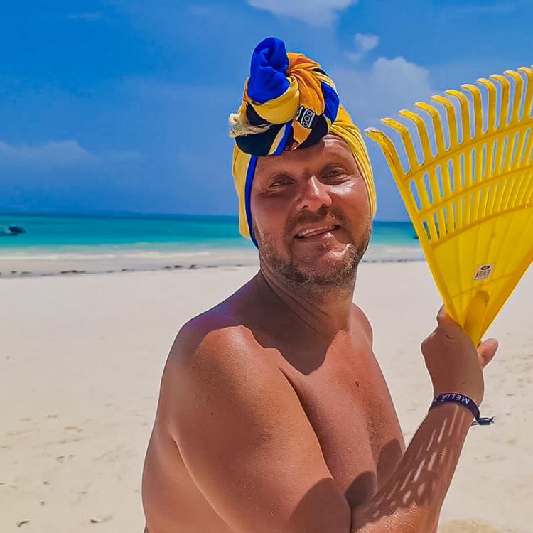 Hozom a beach body-t és megmutatom a zanzibári partoknak!