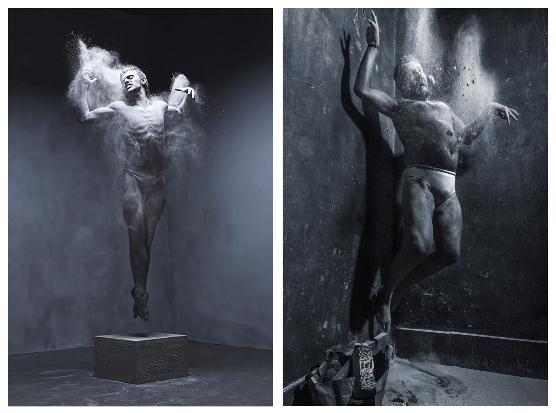 Szerhij Volodimirovics Polunyin ukrán balett-táncos / Fotó: Rankin Photography Ltd.