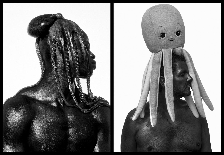 Djimon Hounsou / Fotó: Herb Ritts