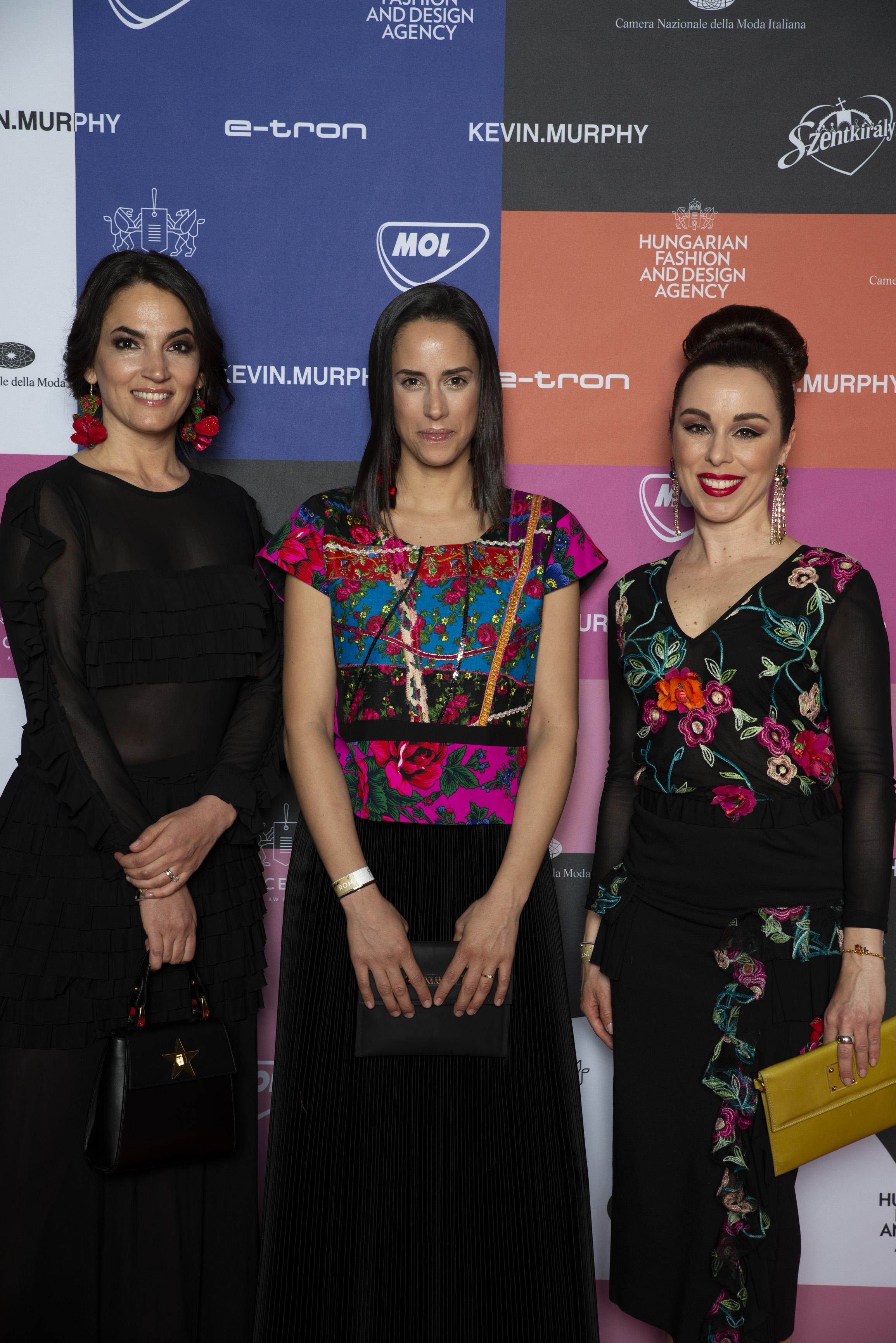 Hölgyek Romaniban - Annoni Zita, Trokán Anna és Kozma Orsi is imádta a vibráló mintákat