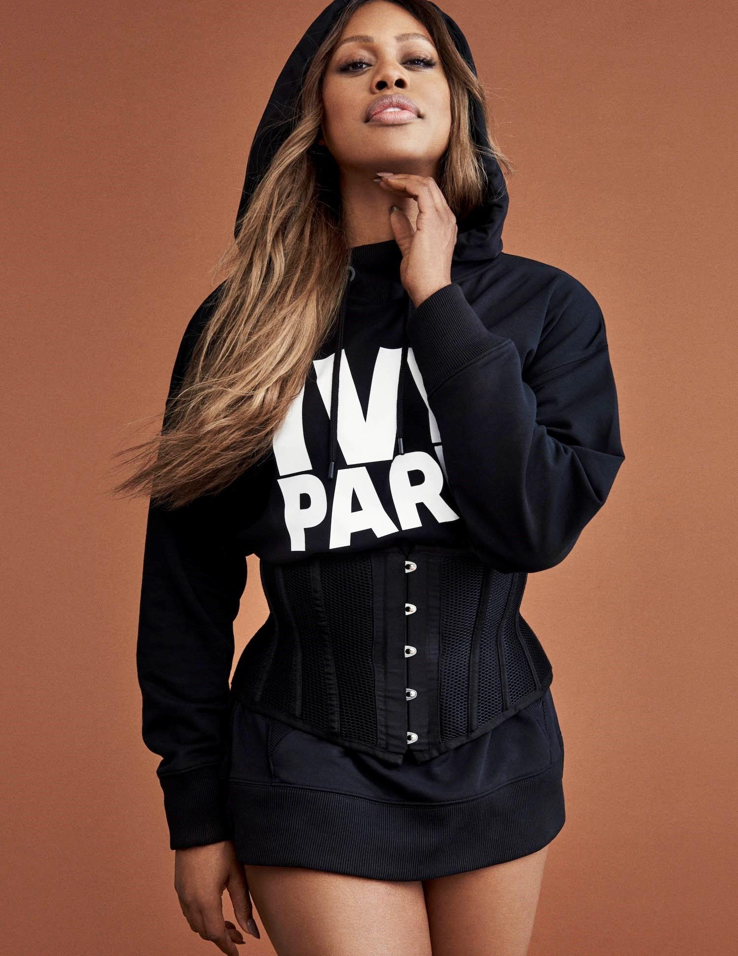 A transznemű színésznőt, Laverne Coxot választotta arcának Beyoncé Ivy Park márkája.
