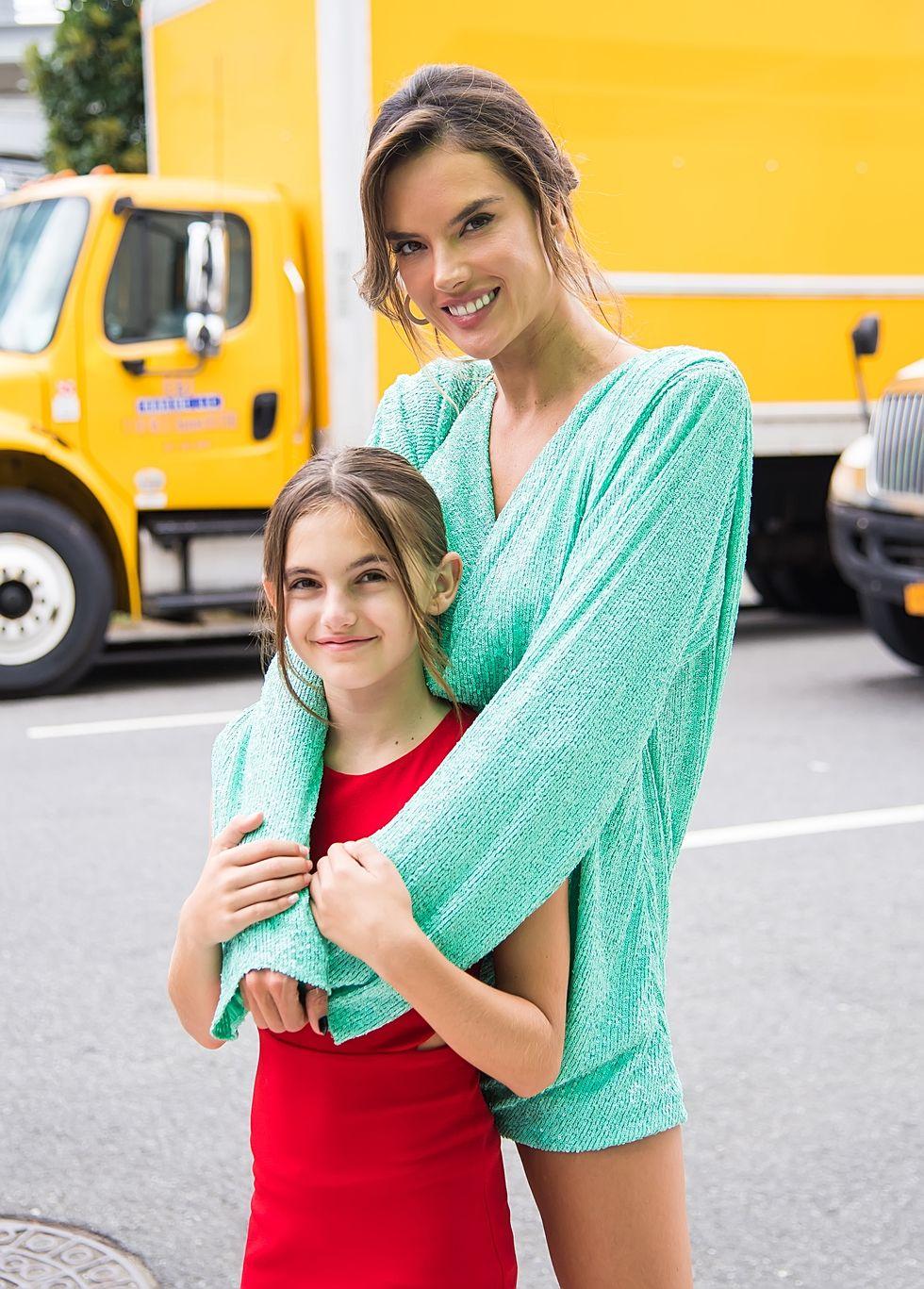 A topmodell Alessandra Ambrosio és a kislánya, Anja Louise Ambrosio Mazur