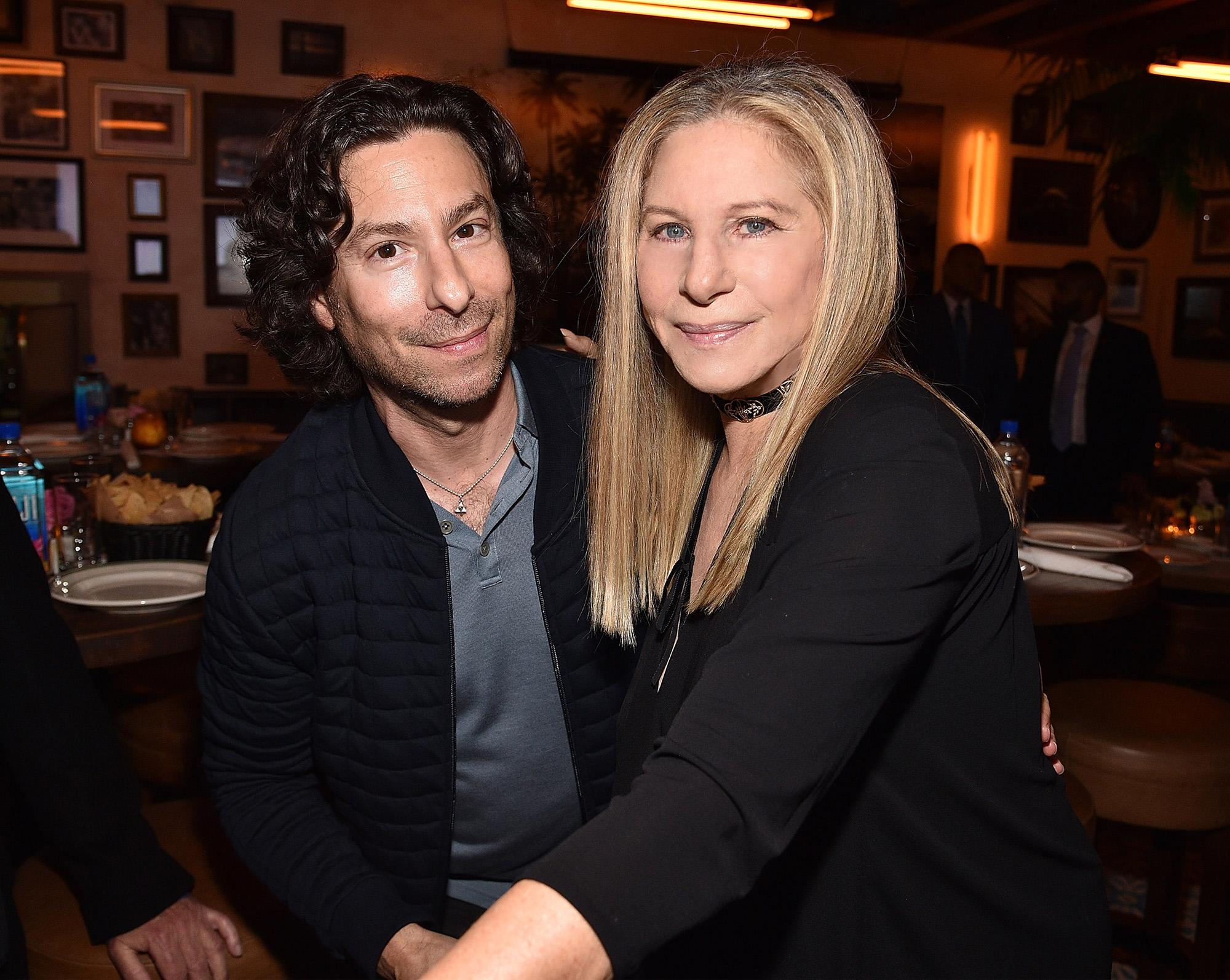 Barbra Streisand és Jason Gould