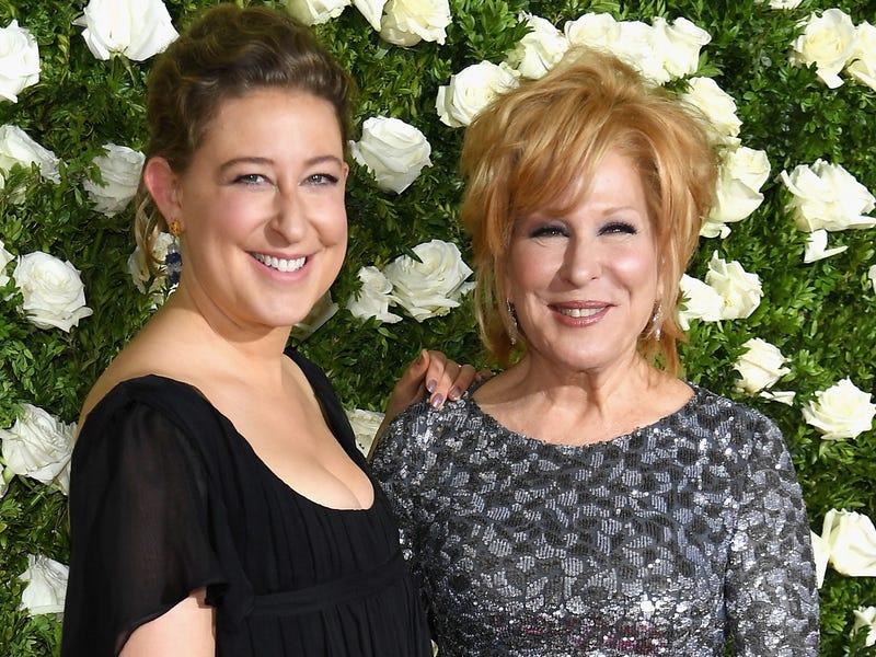 Bette Midler és a lánya, Sophie
