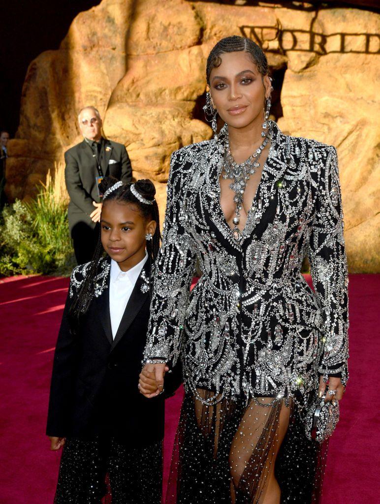 Beyoncé és Blue Ivy - a stílusuk tutira egyezik