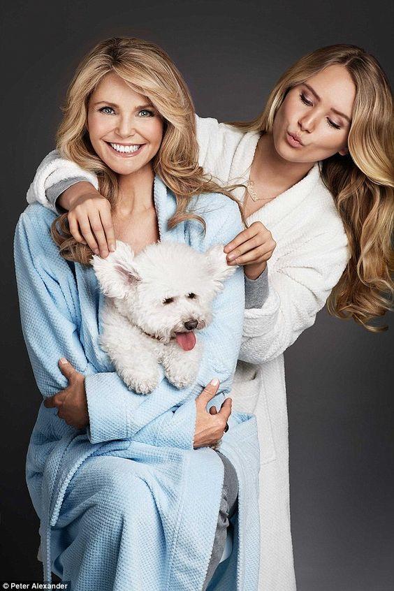 Christie Brinkley és a lánya, Sailor
