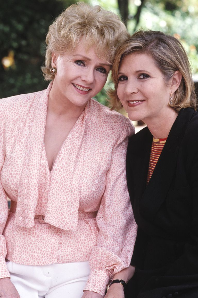 Debbie Reynolds és Carrie Fisher