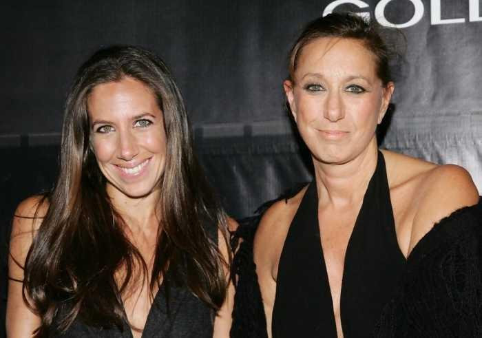 Donna Karan designer és a lánya Gaby is olyan, mint két tojás!
