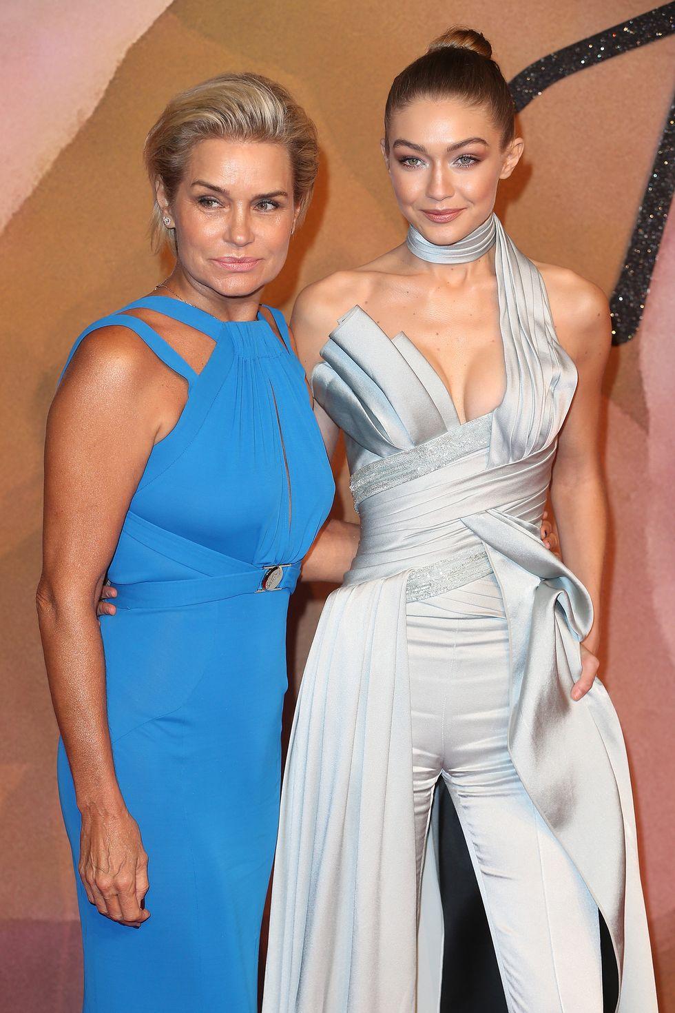 A szupermodell Gigi és az anyukája, Yolanda Hadid