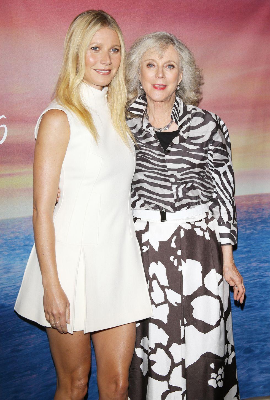 Gwyneth Paltrow & Blythe Danner pár éve