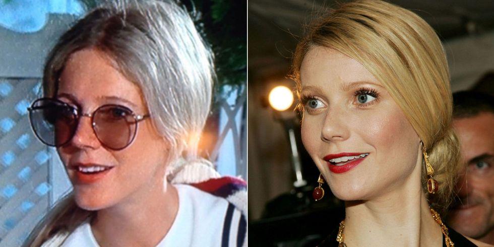 Gwyneth Paltrow & Blythe Danner kb. egyidősen