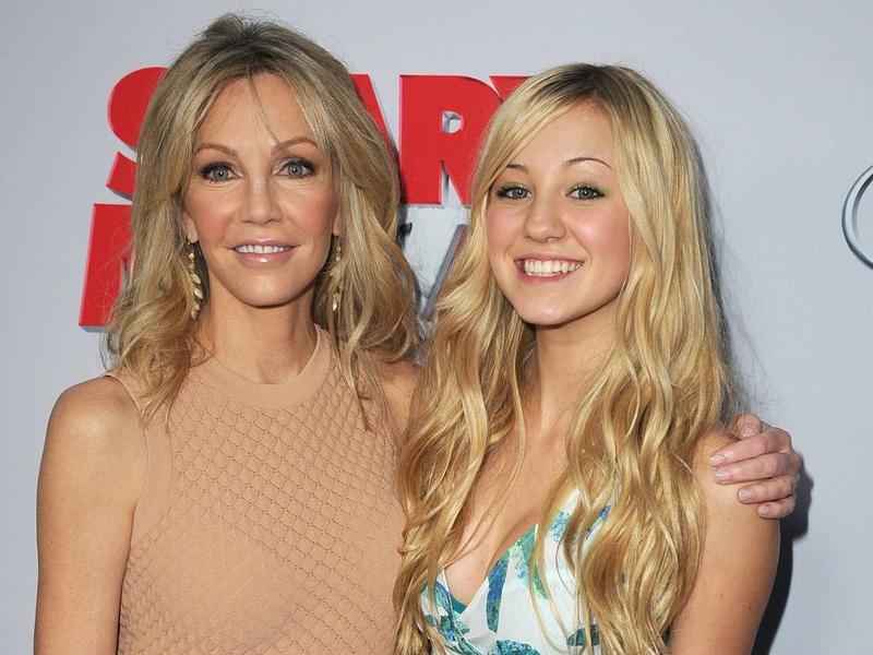 Heather Locklear és a lánya, Ava Sambora