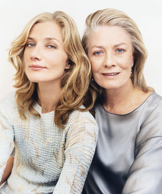 Joely Kim Richardson és az anyukája, Vanessa Redgrave