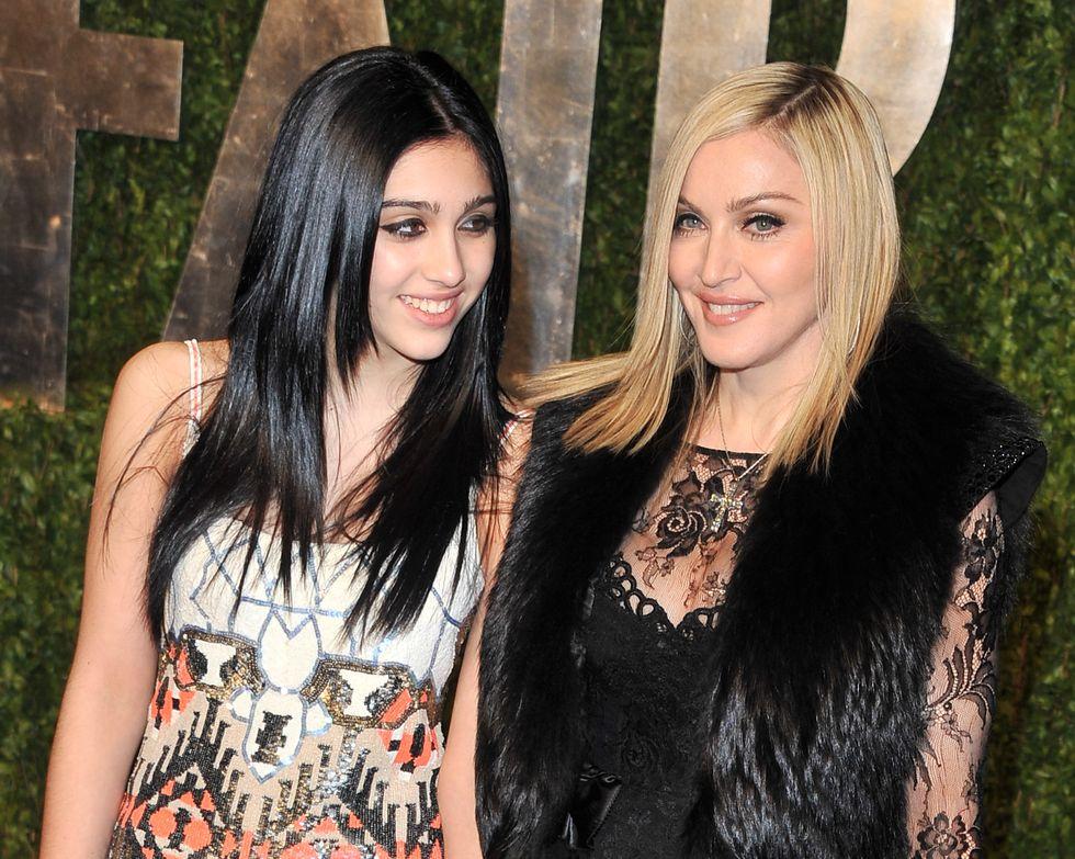 Madonna és a lánya, Lourdes Leon