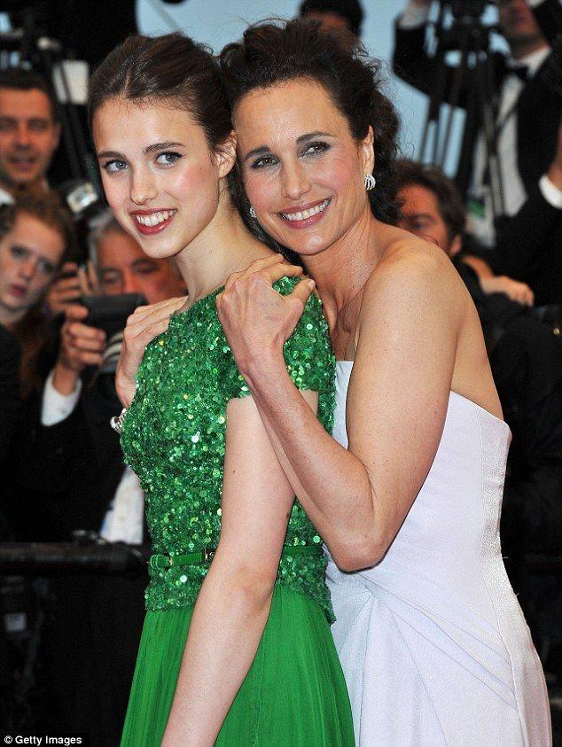 Margaret Qualley és anyukája, Andie MacDowell - mindketten színésznők