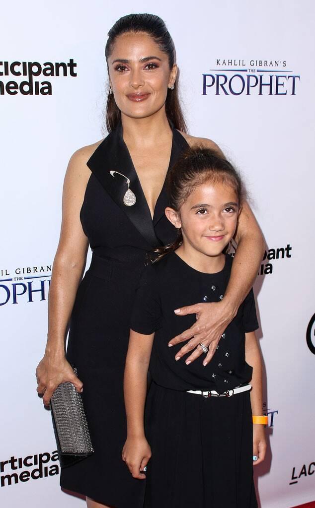 Salma Hayek és a kislánya, Valentina Pinault