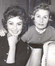A csodás Sophia Loren az édesanyjával