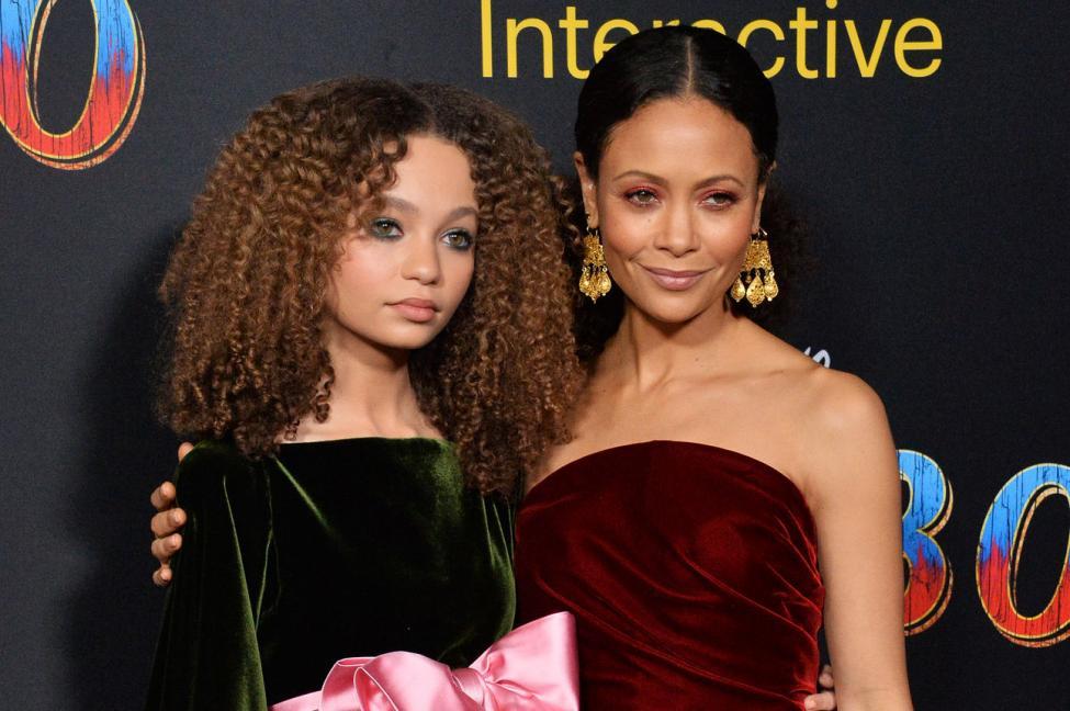 Thandie Newton és a lánya, Nico Parker