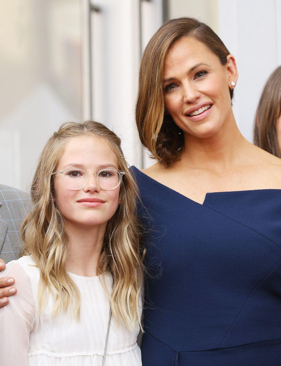 Violet Affleck & Jennifer Garner