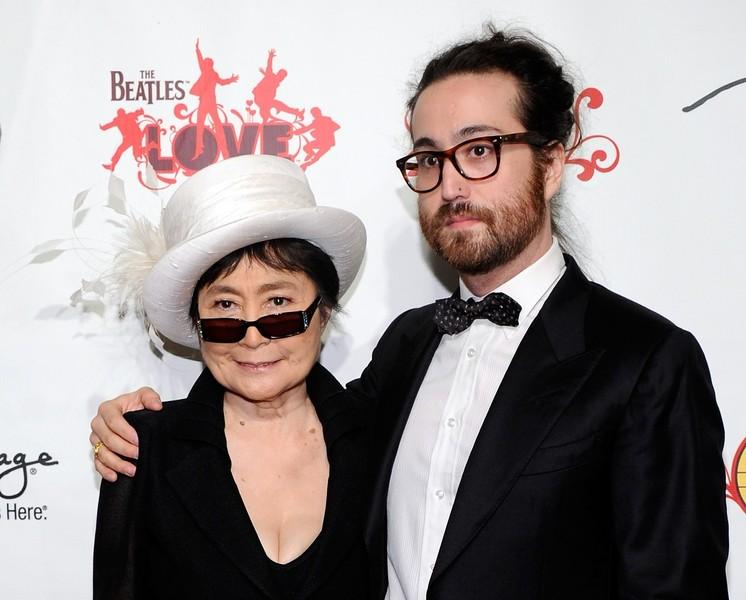 Yoko Ono és Sean Lennon