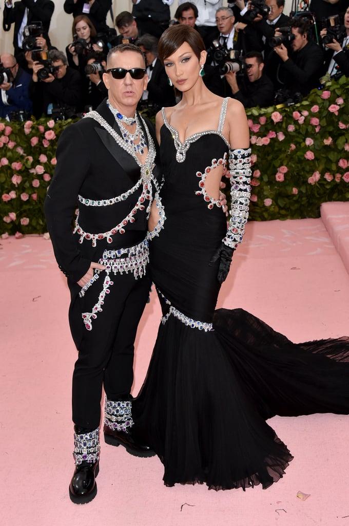 Jeremy Scott és Bella Hadid
