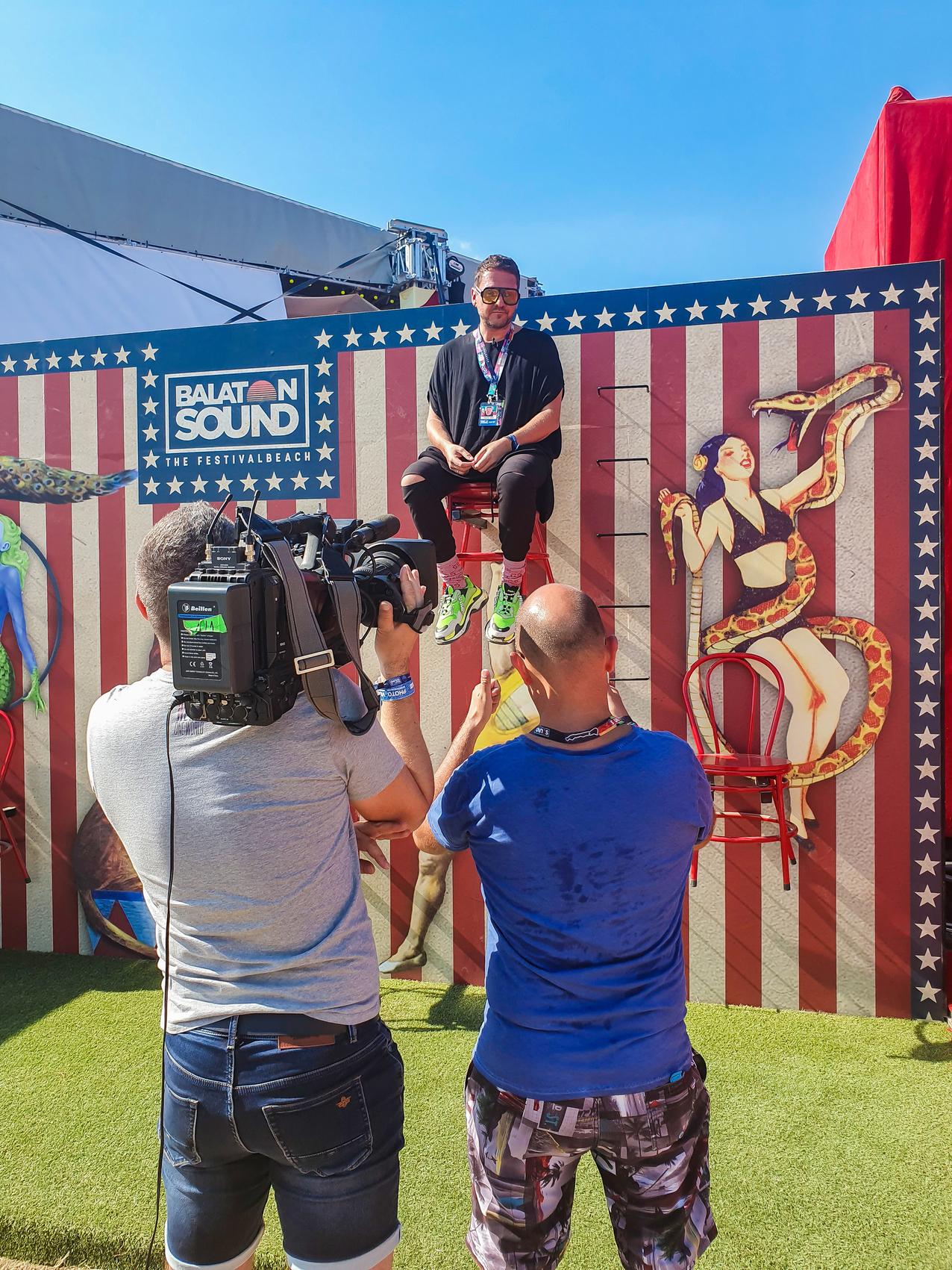 A cirkusznál
