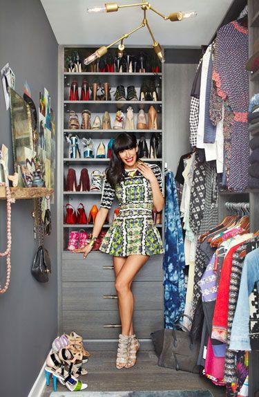 Athena Calderone lakberendező és lifestyle blogger gardróbja - Fotó: InStyle