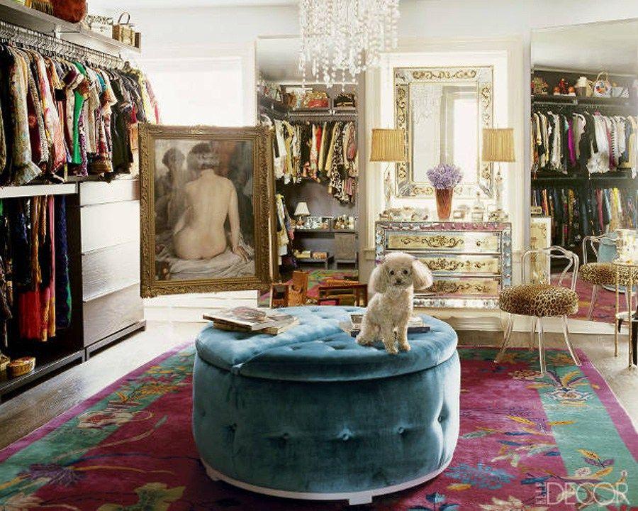 Nanette Lepore designer budoárjából az ottománt hoznám el - Fotó: ELLE Decor