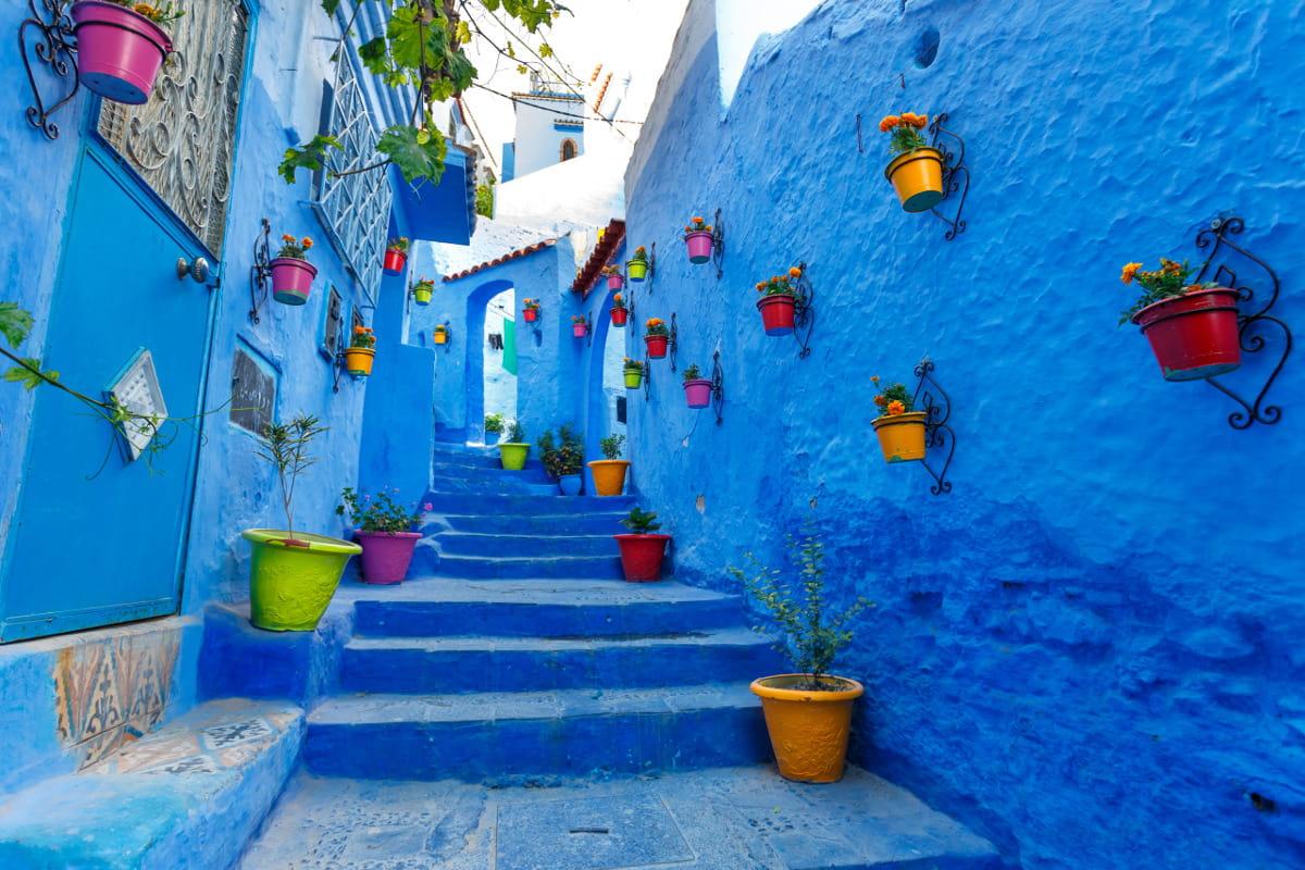 Chefchaouen, Marokkó