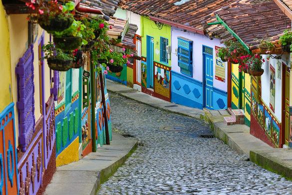 Guatapé, Kolumbia