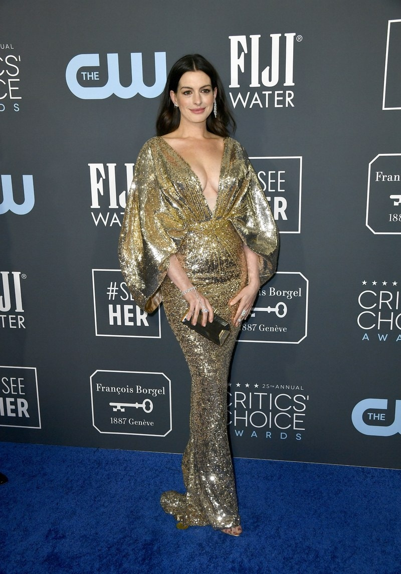 Anne Hathaway - Atelier Versace - Getty Images
