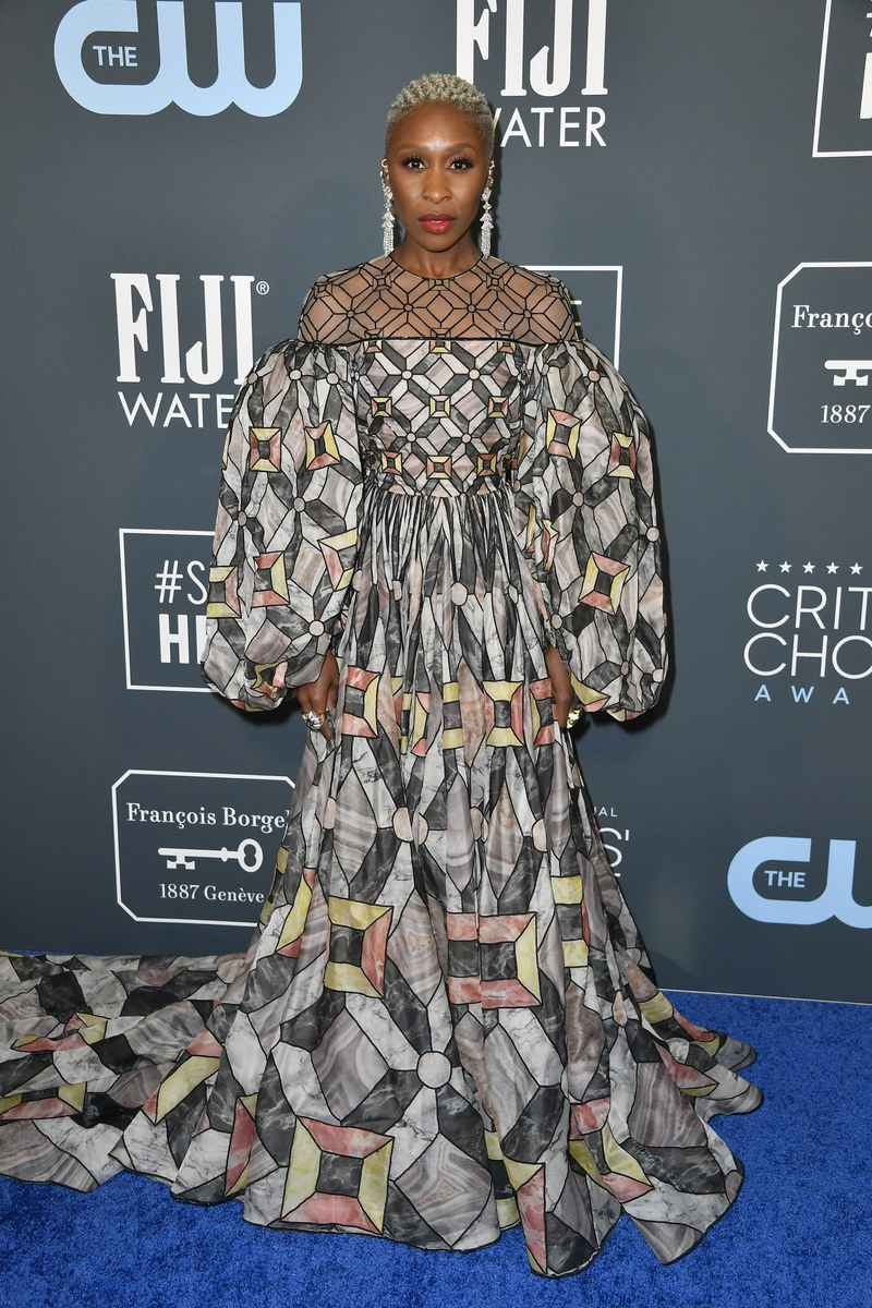 Cynthia Erivo - Feni Haute Couture - Getty Images