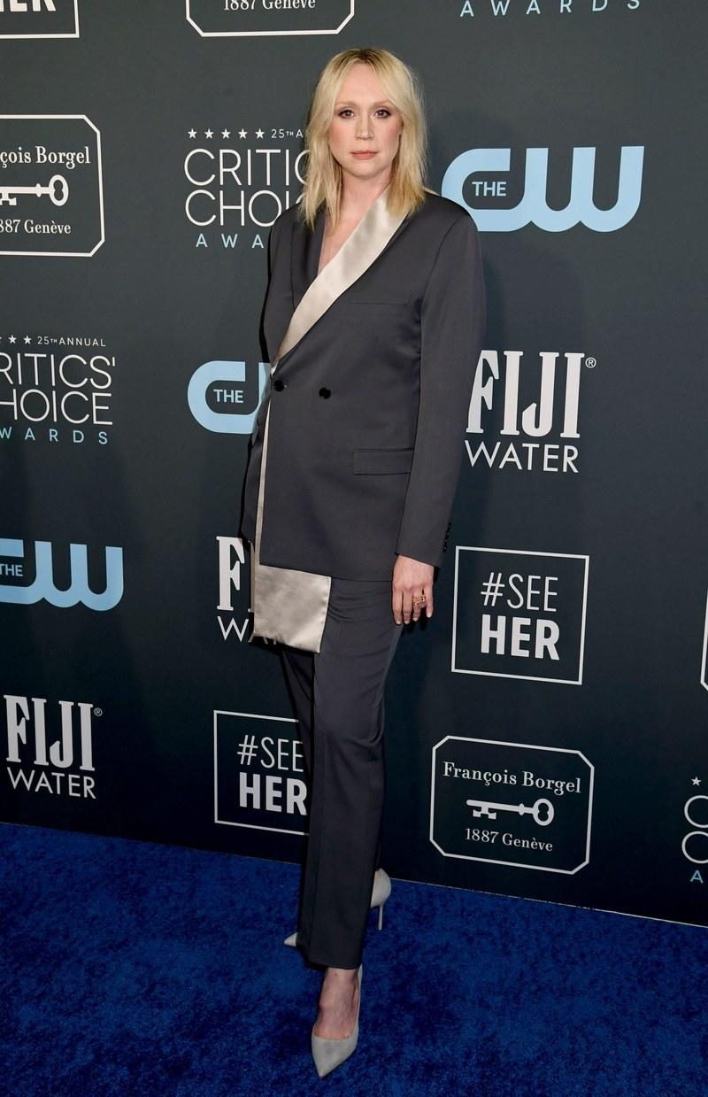 Gwendoline Christie - Dior - Getty Images