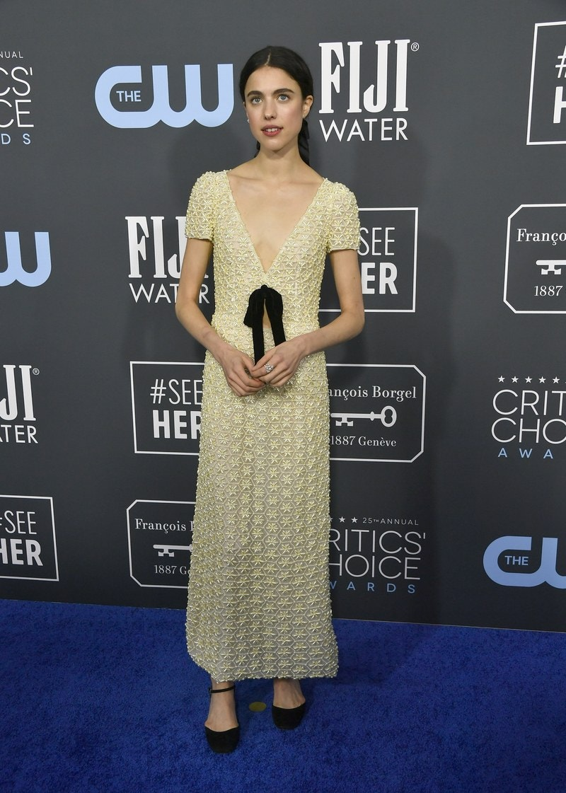 Margaret Qualley - Miu Miu - Getty Images