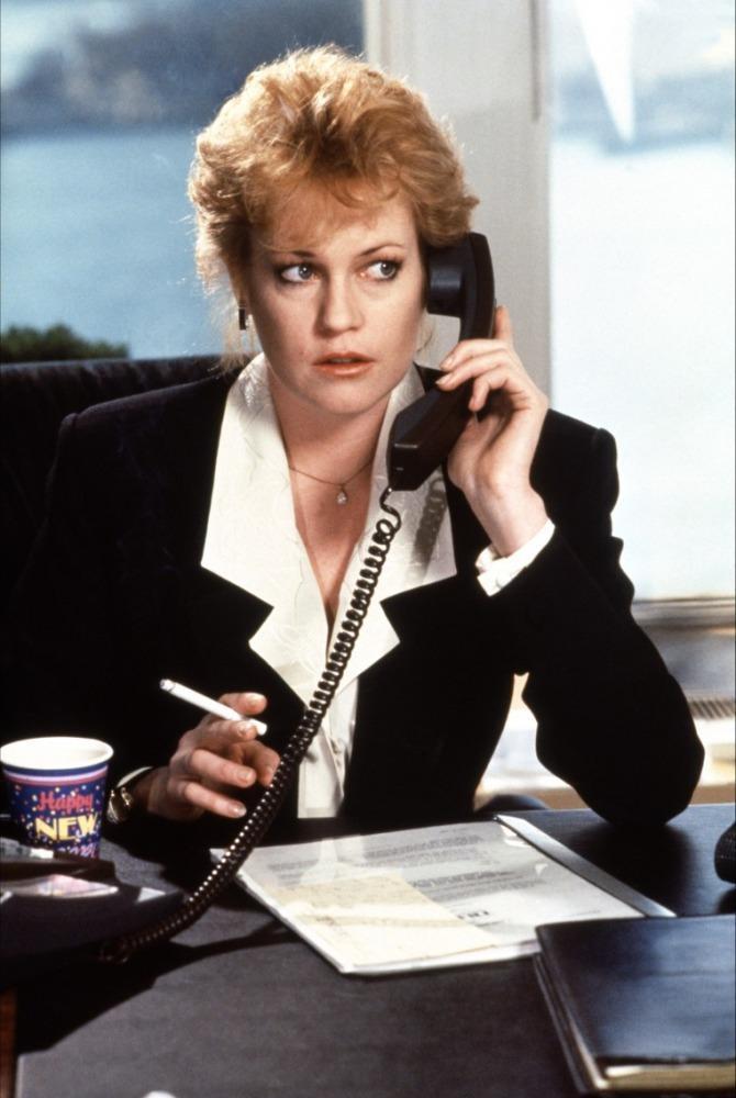Melanie a Dolgozó lány című 1989-es filmben
