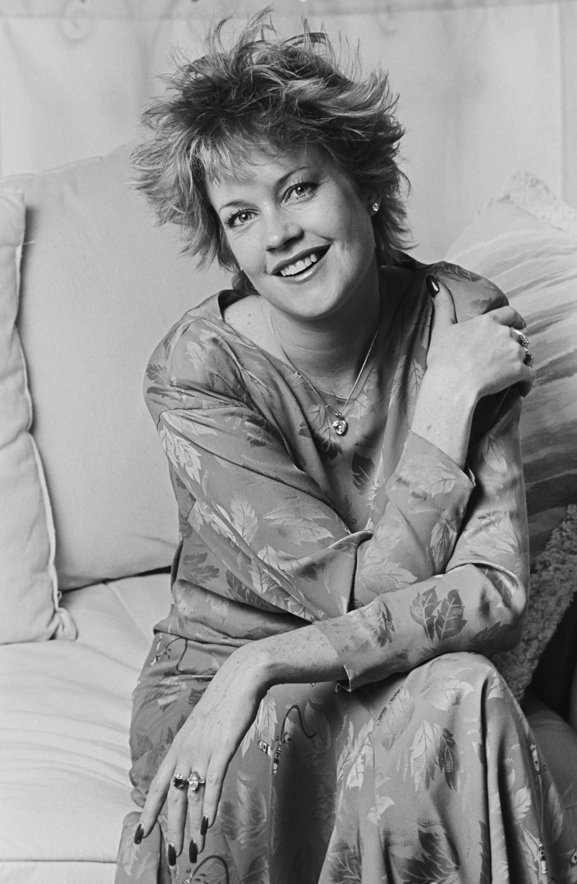 Melanie Griffith 1987-ben - Fotó George Rose - Getty Images