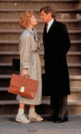 Melanie Griffith és Harrison Ford a Dolgozó lányban - micsoda menő tornacipős-zoknis szett!