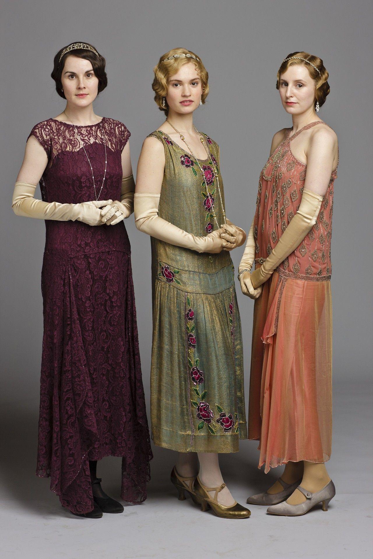 Mary, Rose és Sybil partira készen!
