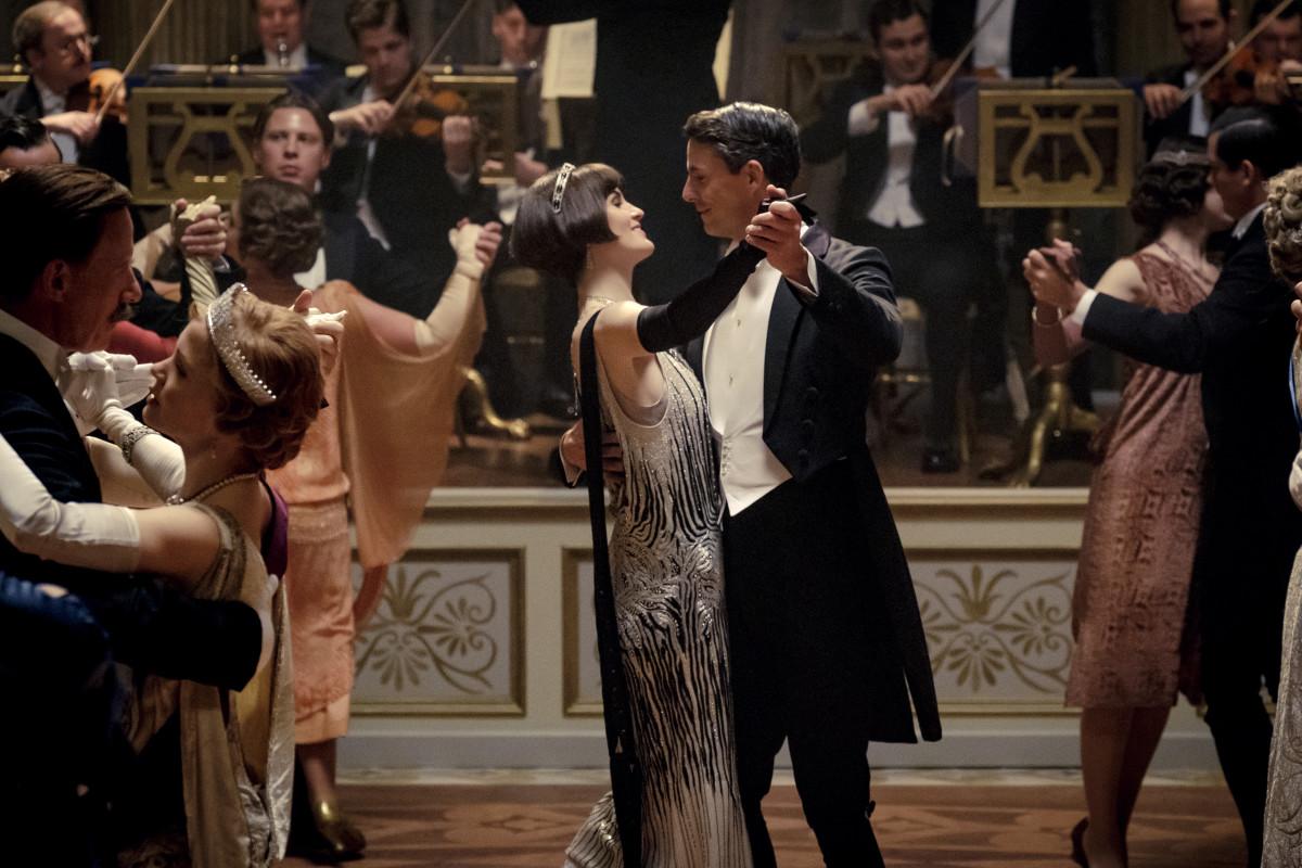 Lord és Lady Talbot egy felejthetetlen jelenetben