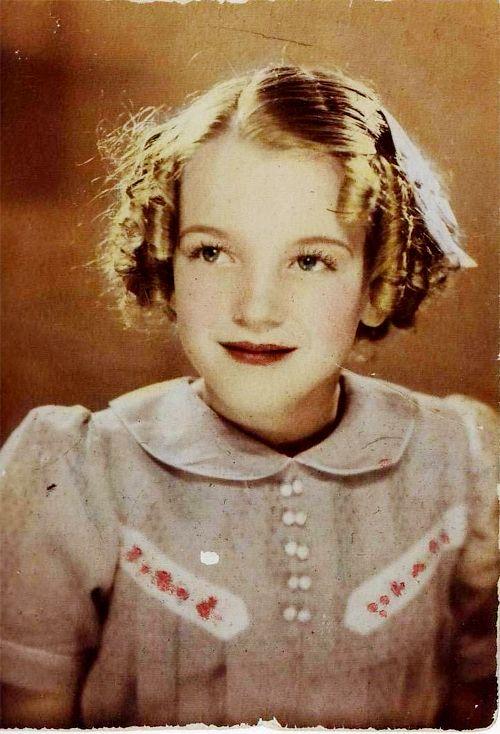 Marilyn Monroe már gyereknek is irtó helyes volt