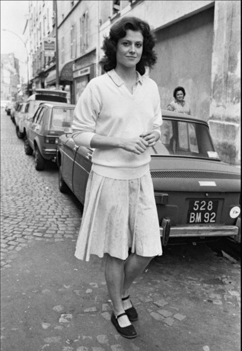 Sigourney Weaver 1979-ben, Párizsban hódított
