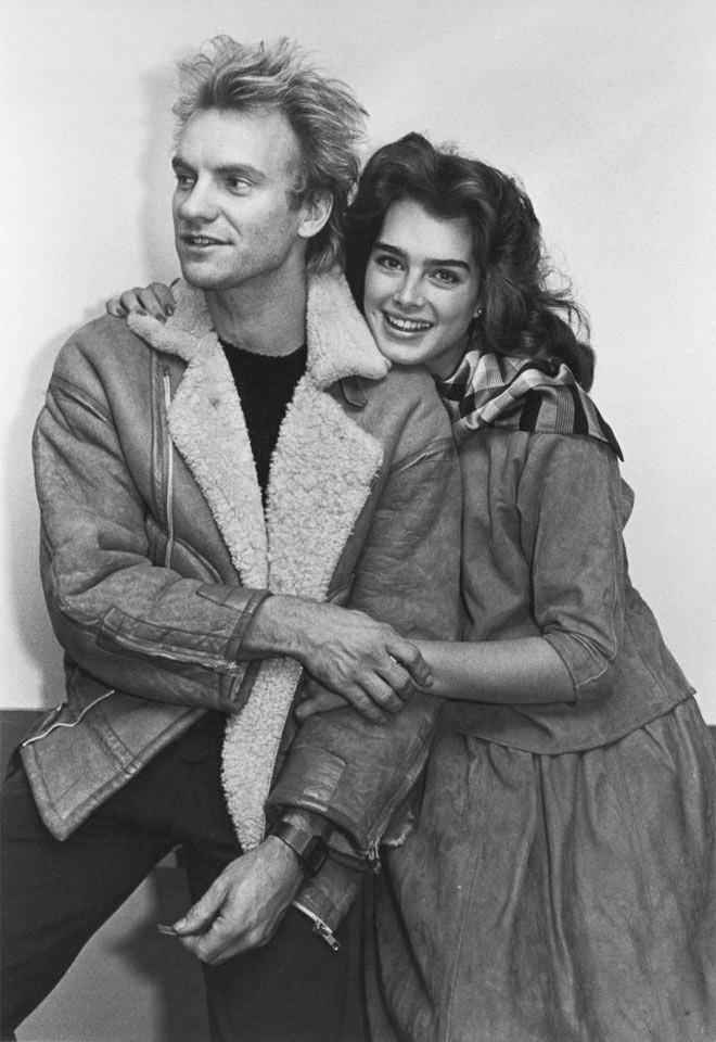 Sting és Brooke Shields is együtt lógtak?