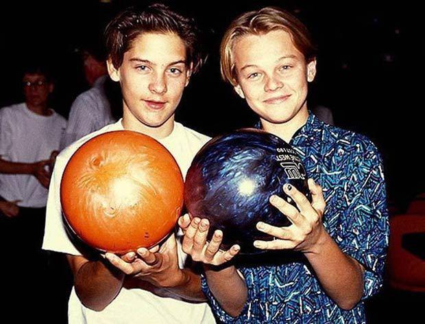 Tobey Maguire és Leonardo DiCaprio fiatalon barátok lettek