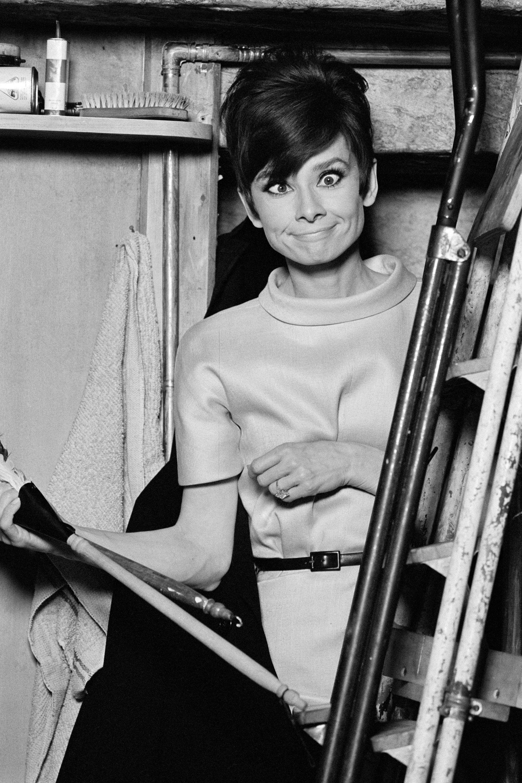 Audrey Hepburn sem vetette meg a fura grimaszokat
