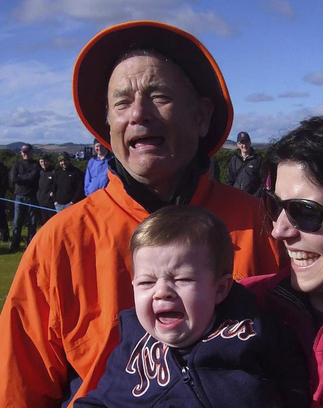 Bill Murray és a síró kisgyerek esete (nem, a képen nem Tom Hanks szerepel, de sokan kérdeztétek)