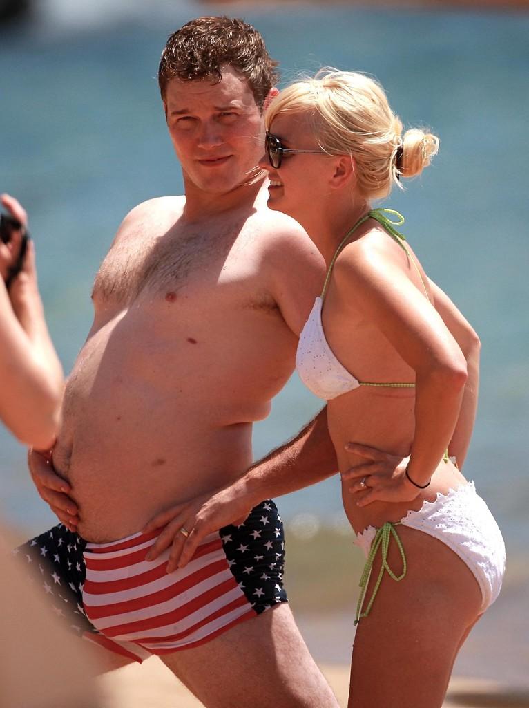 Chris Pratt 10 éve még ilyen beach bodyval vonulgatott büszkén a strandon