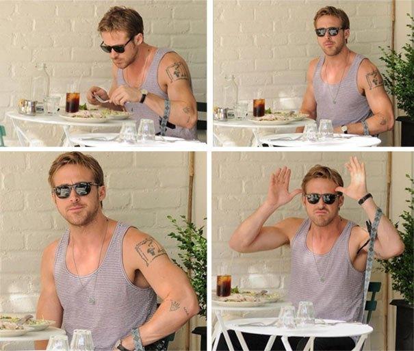 És Ryan Goslingnak sem a szíve csücske a lesifotós banda