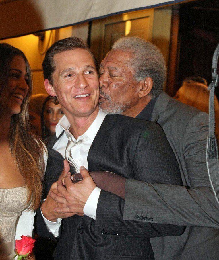 De Matthew McConaughey és Morgan Freeman is imádják egymást